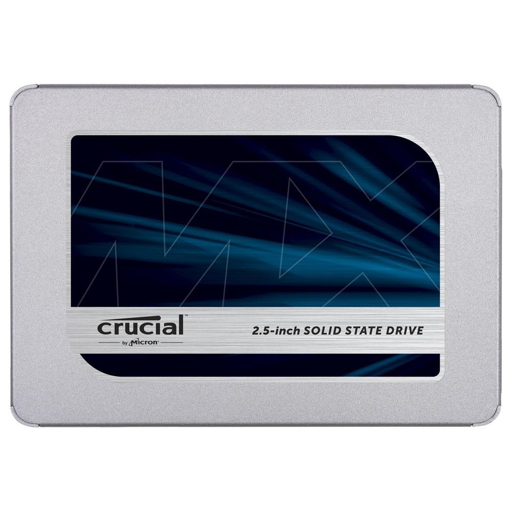 HD SSD. 1TB Sata III Leitura 560MB/s Gravação 510MB/s, CRUCIAL - CT1000MX500SSD1