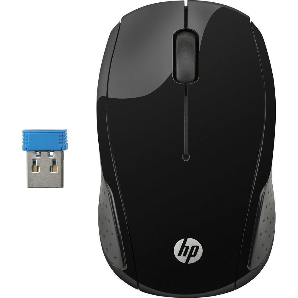 Mouse sem Fio Oman, HP X200 Preto