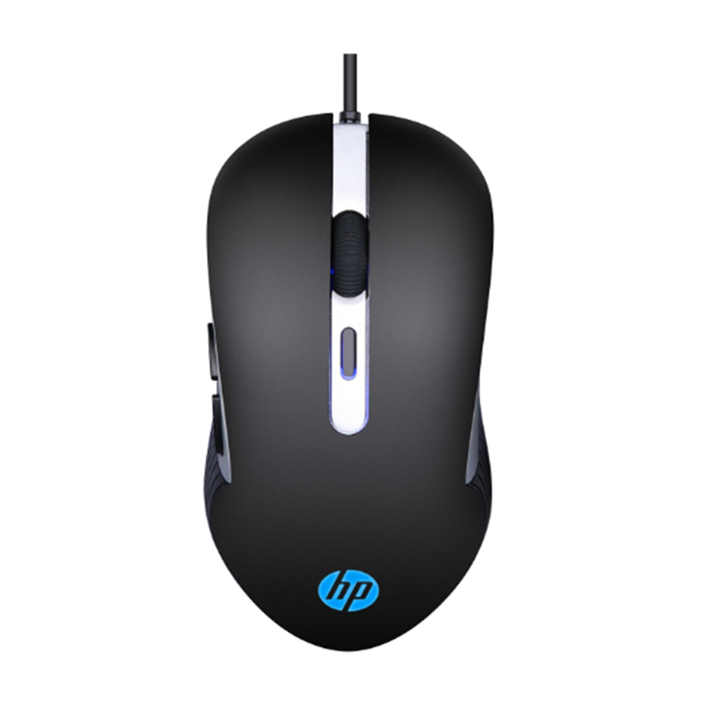 Mouse USB Gamer 2400 DPI Preto, HP G210