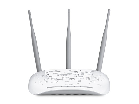 Repetidor / Access Point Wireless 300Mbps 3 Antenas, TP-LINK TL-WA901ND