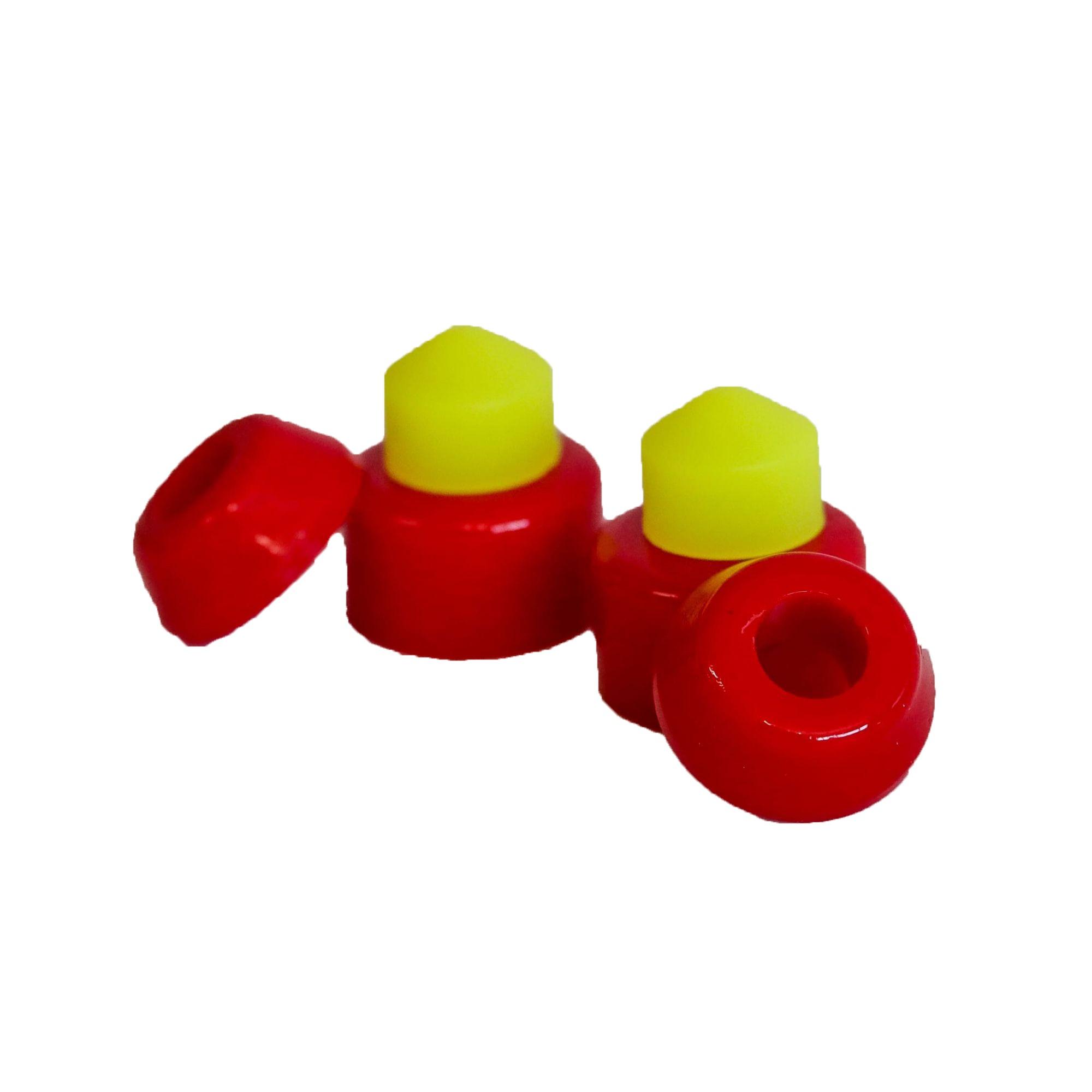 Amortecedor Solo Conico - Vermelho/Verde 95mm