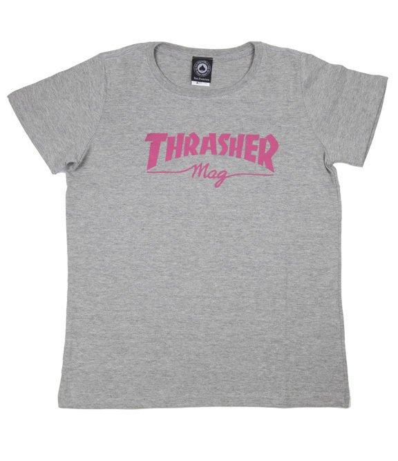Blusa Thrasher Mag Cinza Mescla