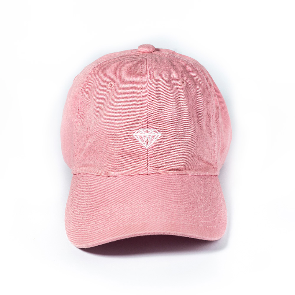 Boné Diamond Micro Brilliant Dad Hat- Rosa
