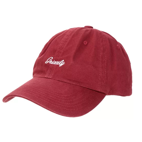 Boné Grizzly Late To The Game Dad Hat Vinho