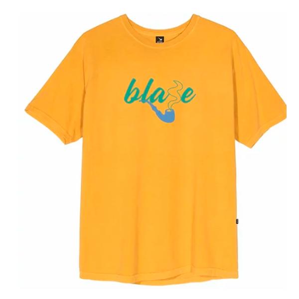 Camiseta Blaze Tee Blaze Smoke Amarelo
