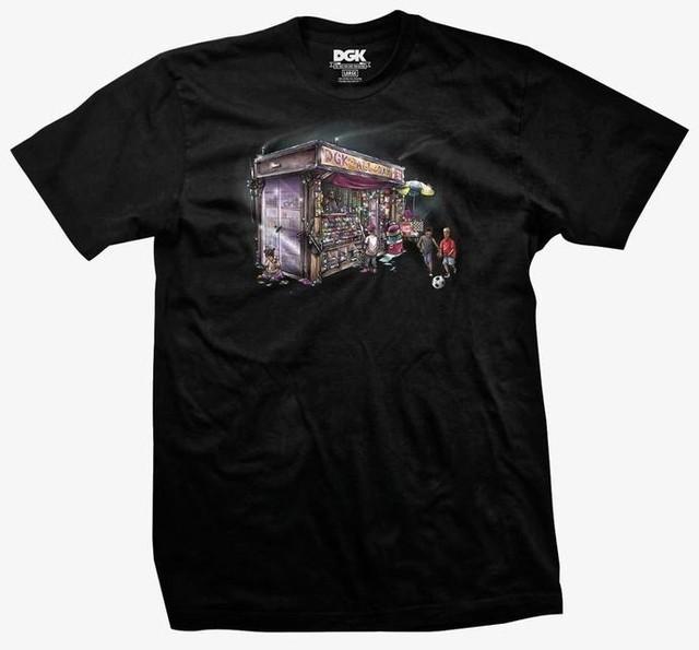 Camiseta DGK Daily News - Preto