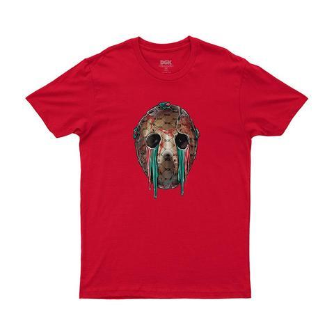 Camiseta DGK Hooligan - Vermelho