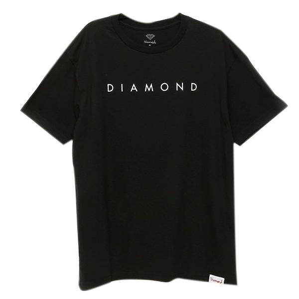 Camiseta Diamond Leeway Tee Preto