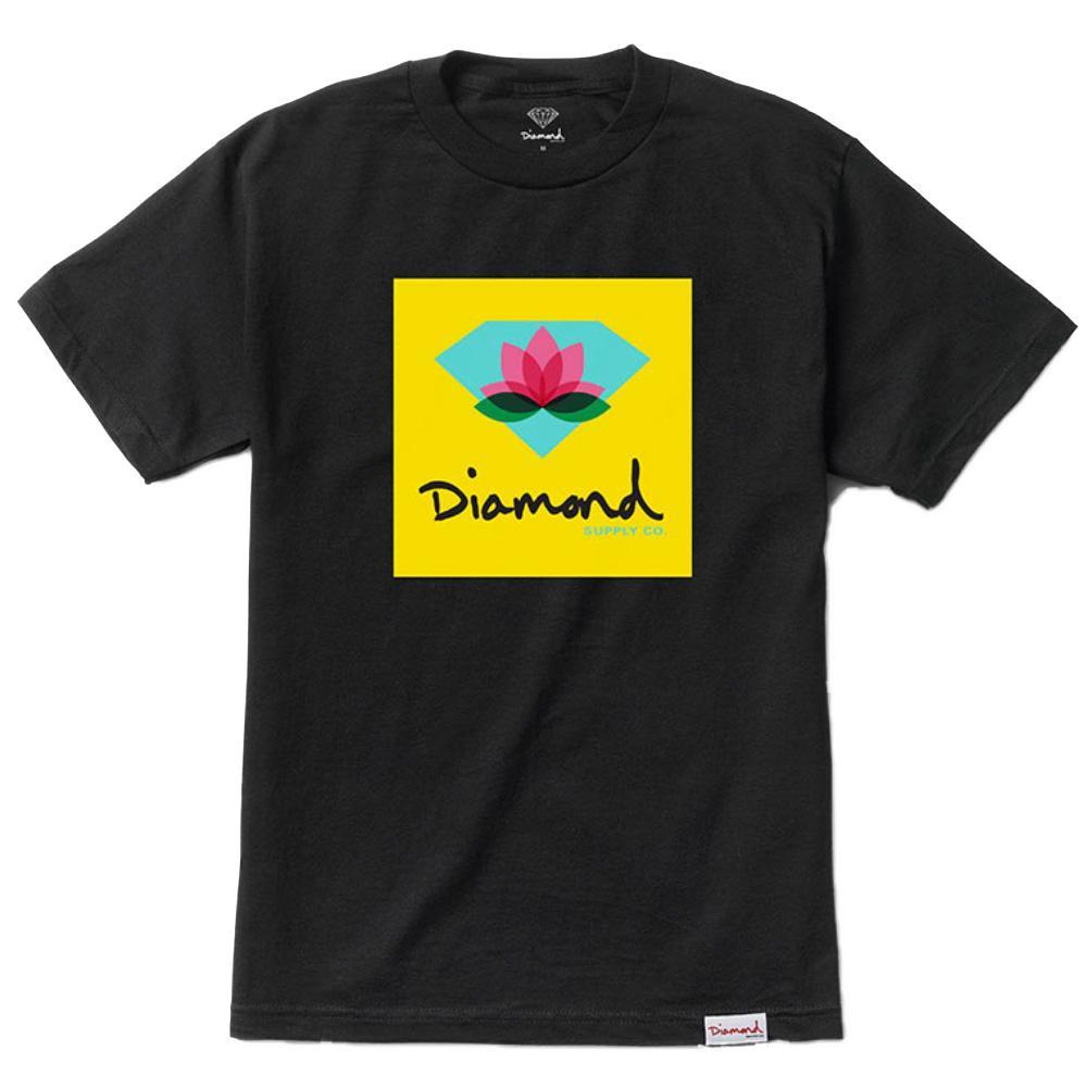 Camiseta Diamond Lotus Box Sign