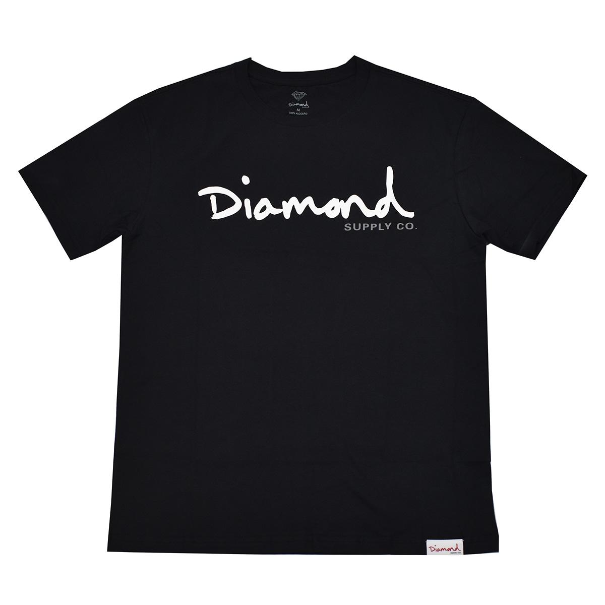 Camiseta Diamond Script