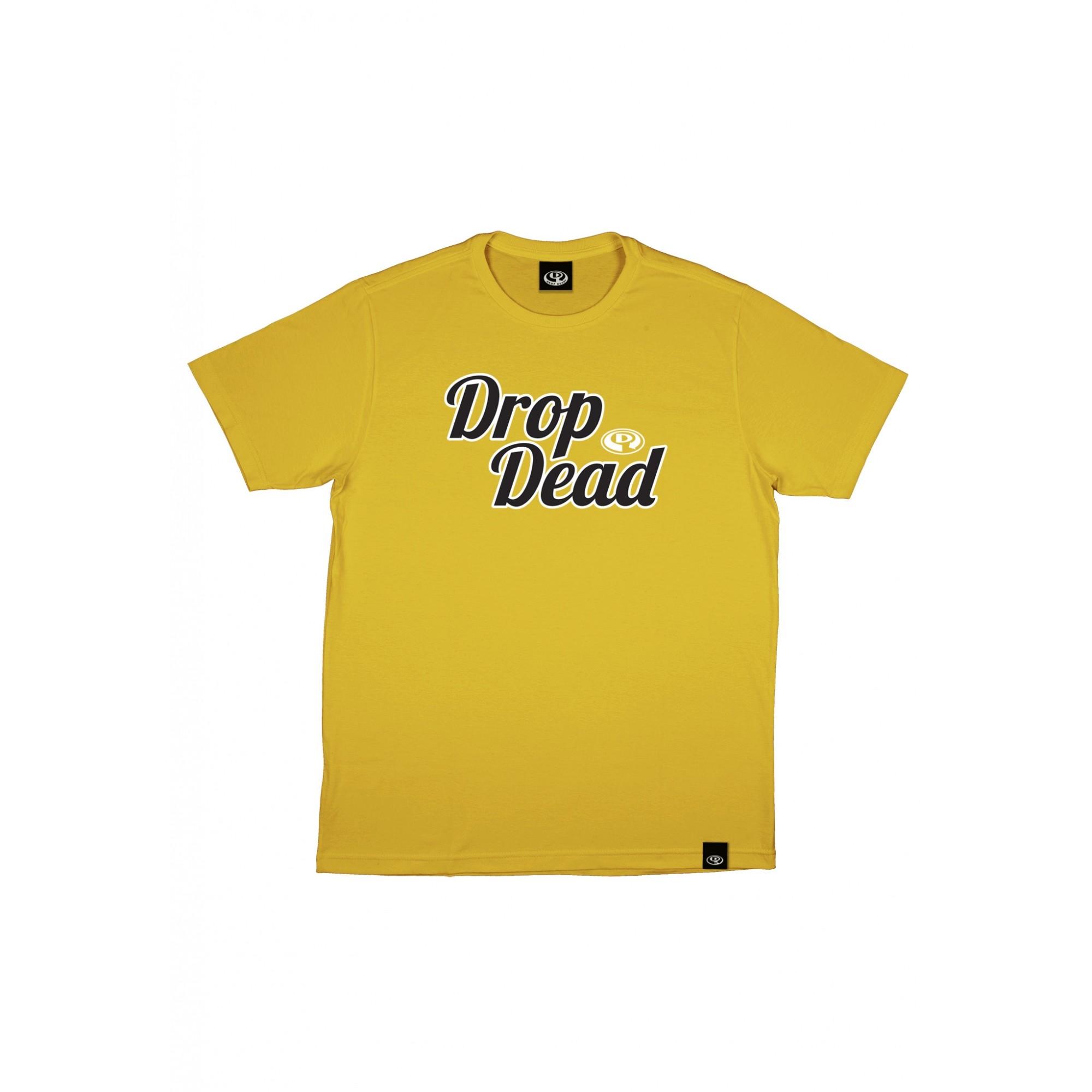 Camiseta Drop Dead Delineate - Amarelo