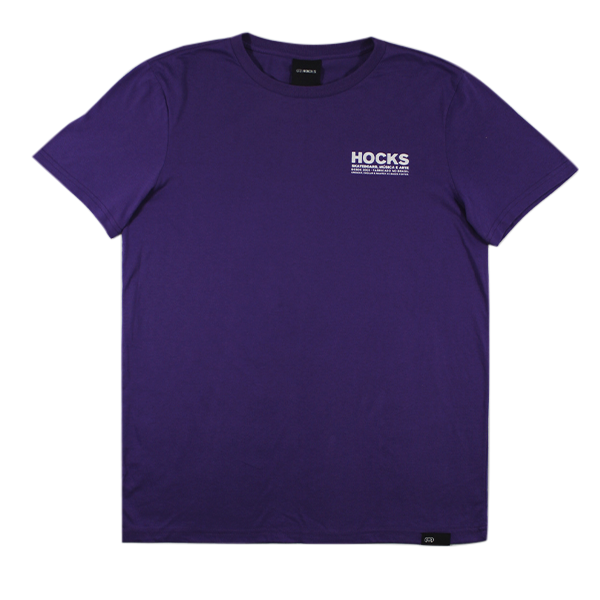 Camiseta Hocks Promo Concreto Roxo