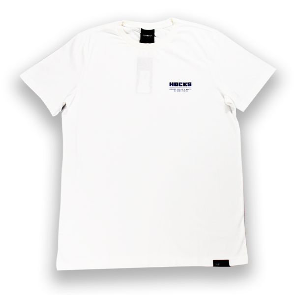 Camiseta Hocks Promo Slogan Branco