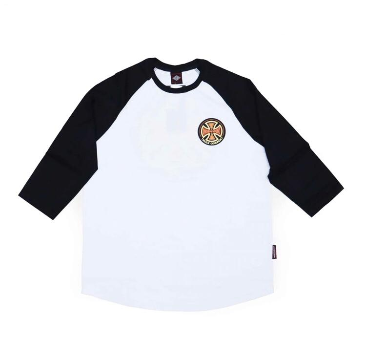 Camiseta Independent Especial 3/4 Raglan 78' Cross