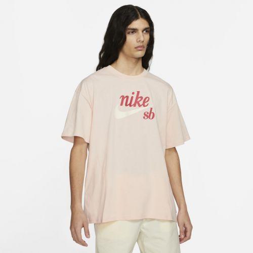 Camiseta Nike SB Masculina - Rosa Claro