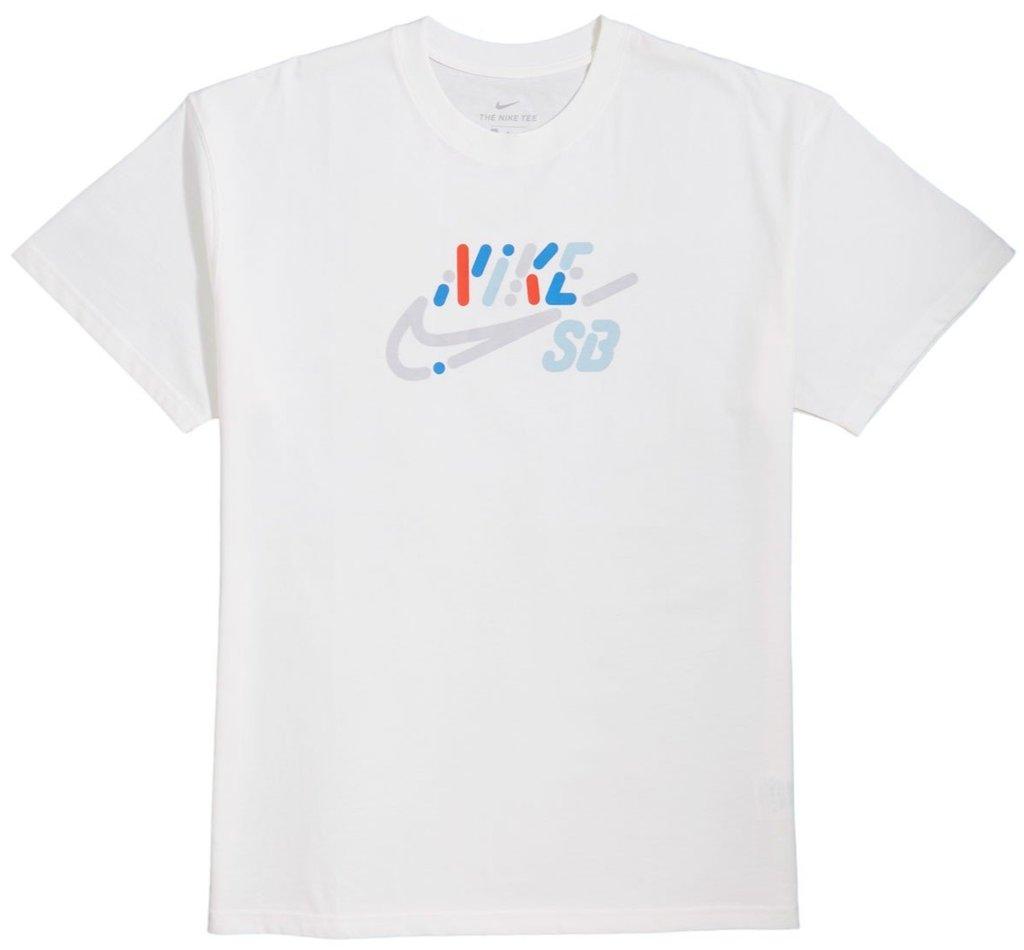 Camiseta Nike Sb Tee Yoon Air Logo - Branca