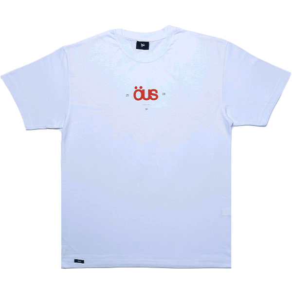 Camiseta ÖUS 2508 Branca