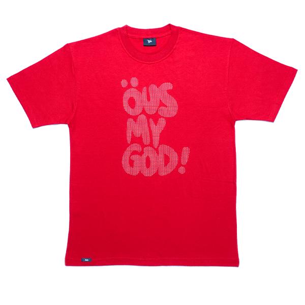 Camiseta ÖUS My God Vermelho