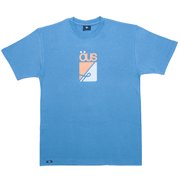 Camiseta ÖUS Textura Azul