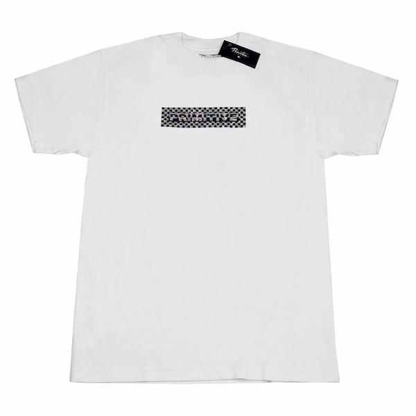 Camiseta Primitive Finish Line Hologram Foll Branco