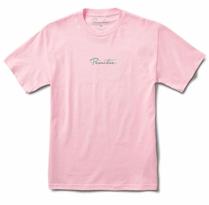 Camiseta Primitive Nuevo Hologram Tee Pink