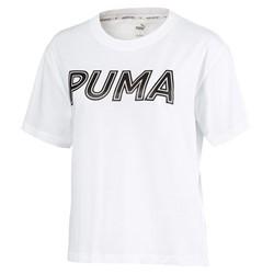 Camiseta Puma Feminina Logo Tee Puma Branco