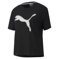 Camiseta Puma Feminina Logo Tee Puma Preto