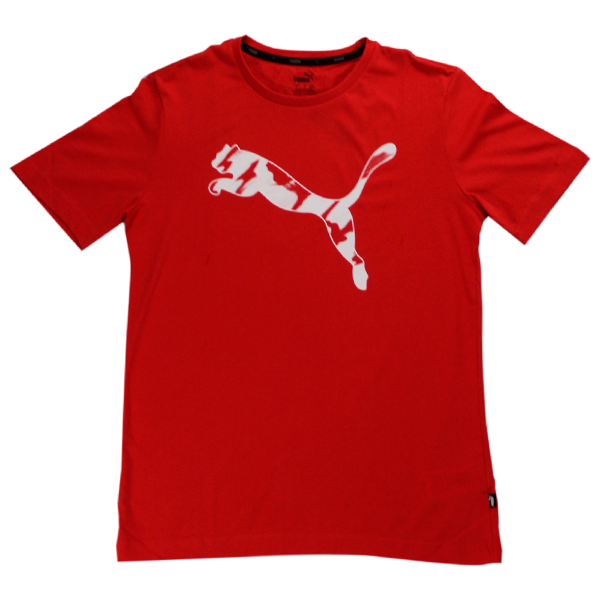 Camiseta Puma Tee High Risk Red