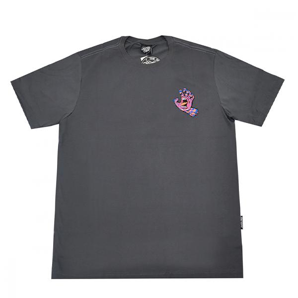 Camiseta Santa Cruz Kaleido Hand Cinza