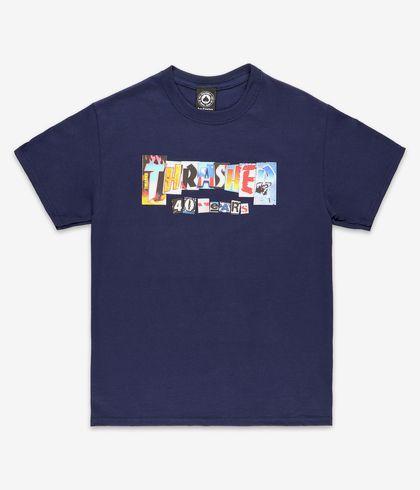 Camiseta Thrasher 40 Years