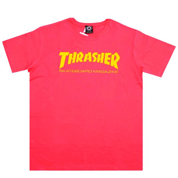 Camiseta Thrasher Skate Mag Rosa