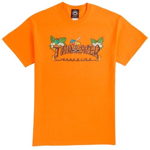 Camiseta Thrasher Tiki - Laranja