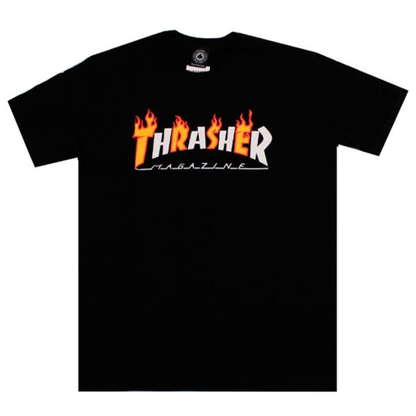 Camiseta Thrasher Flame Mag