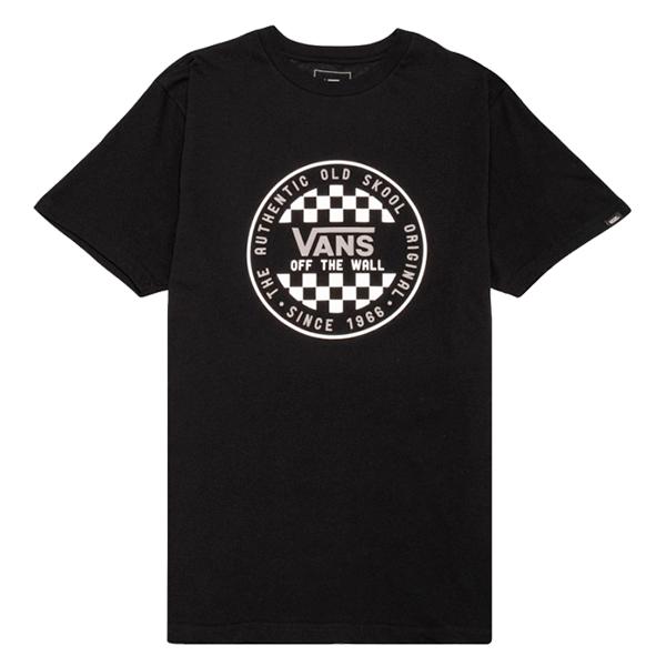 Camiseta Vans Checker Preta