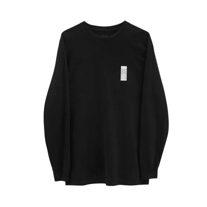 Camiseta Vans Manga Longa Quick Response LS - Preto