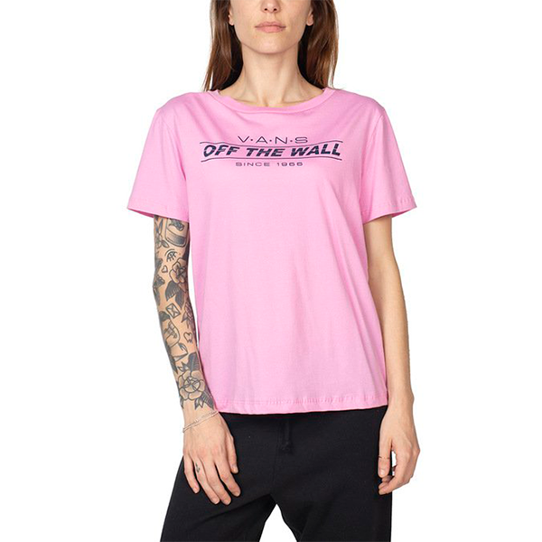 Camiseta Vans Sign Up Rosa