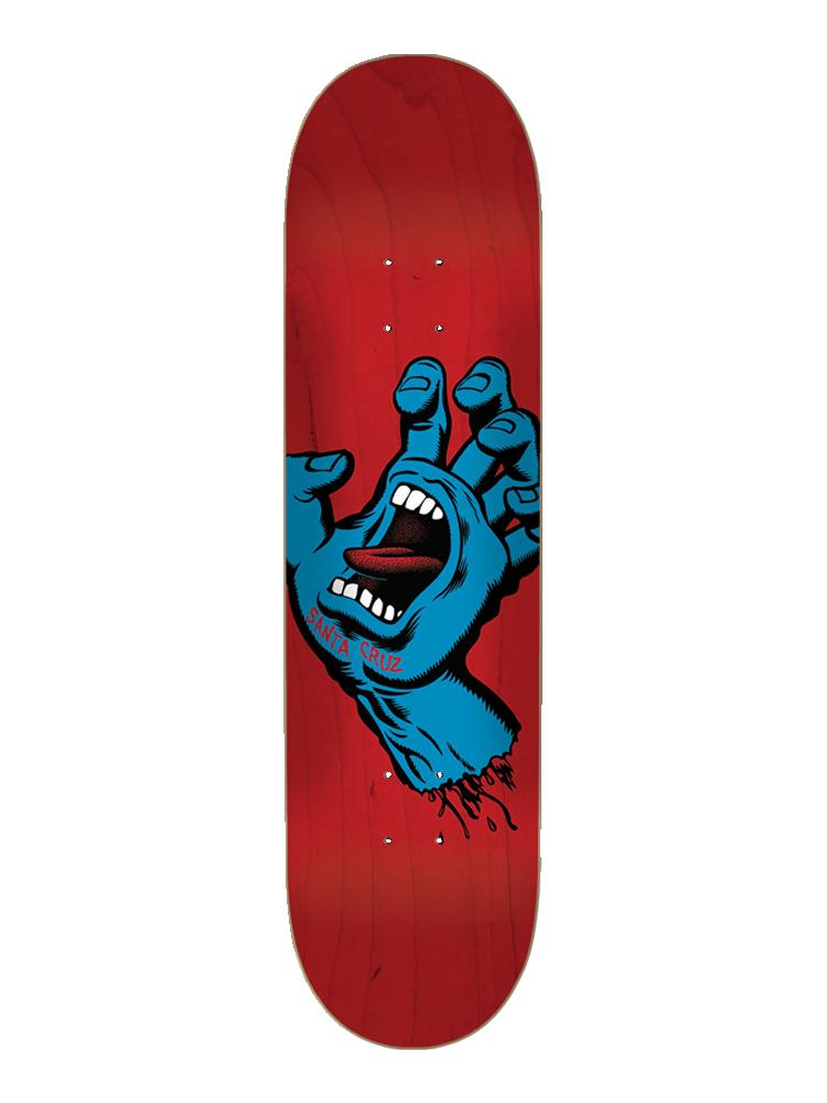 Shape Maple Santa Cruz Screaming Hand - Red 8.25