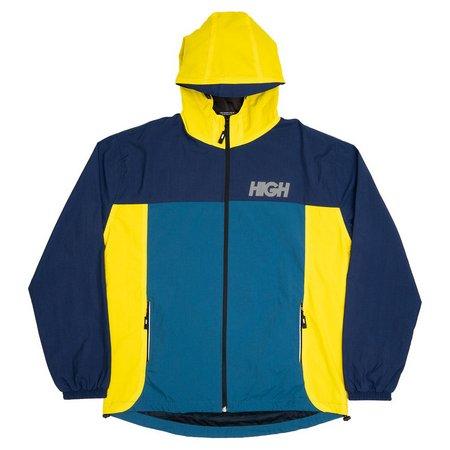Jaqueta High Company Corta Vento Rain Amarelo/Azul