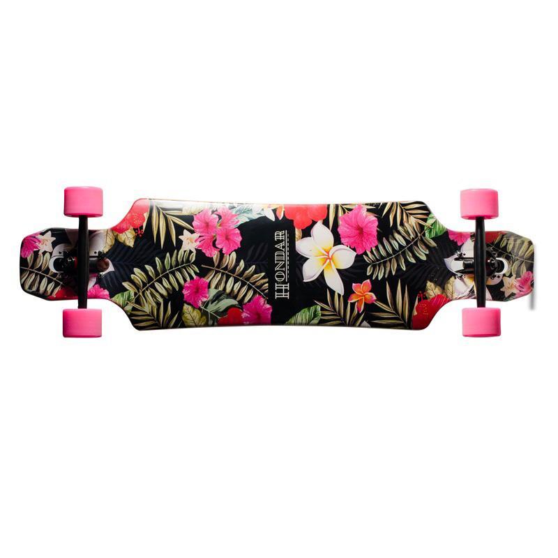 Longboard Hondar Freeride 40'' Flores Rosas