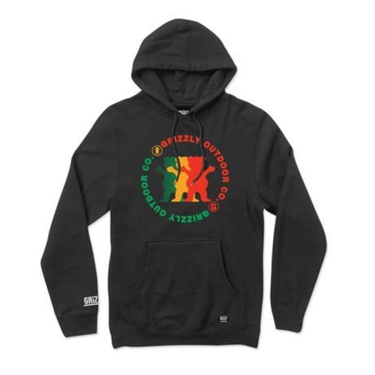 Moletom Grizzly Faceoff Hoodie