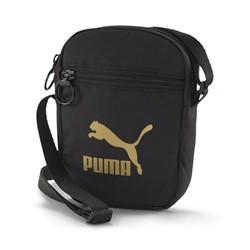 Shoulder Bag Puma WMN Core Up Portable Preto/Dourado