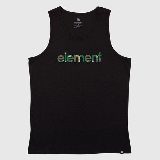 Regata Element Water Camo Mark - Preto
