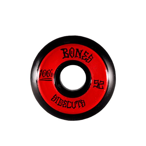 Roda Bones 52mm Sidecuts Black