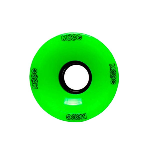 Roda Importada Longboard MOOG 70mm - Verde