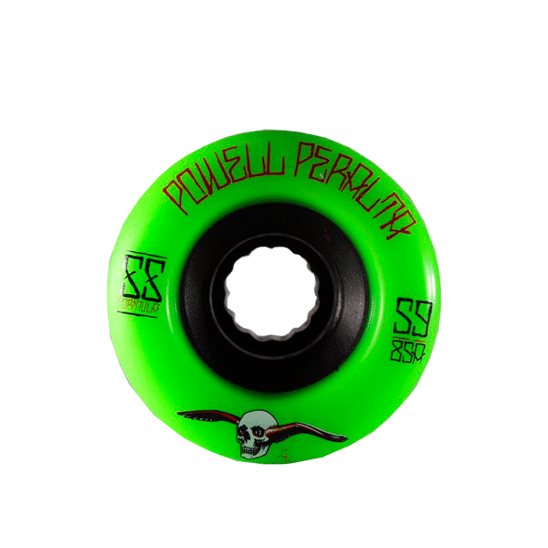 Roda Powell Peralta G-slides 59mm 85a Verde
