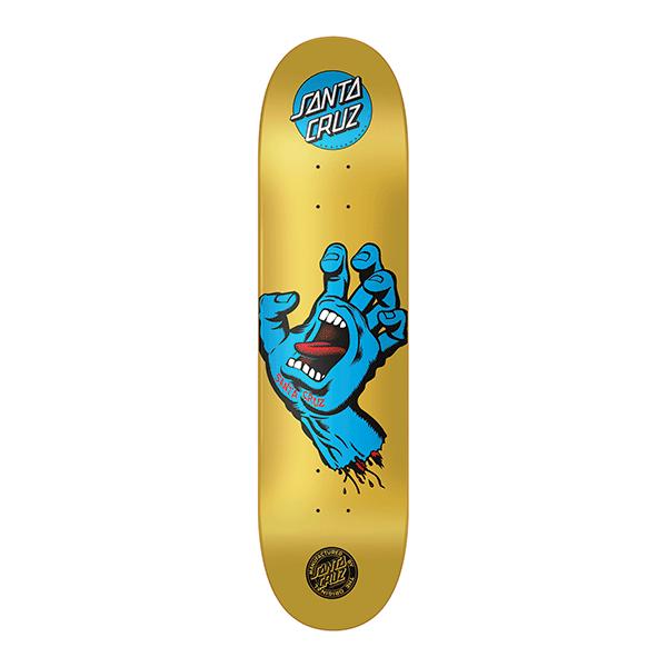 Shape Santa Cruz Powerlyte Screaming Hand Metalic 8.25