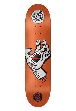 Shape Santa Cruz Powerlyte - Screaming Hand Metalic Orange 8.125
