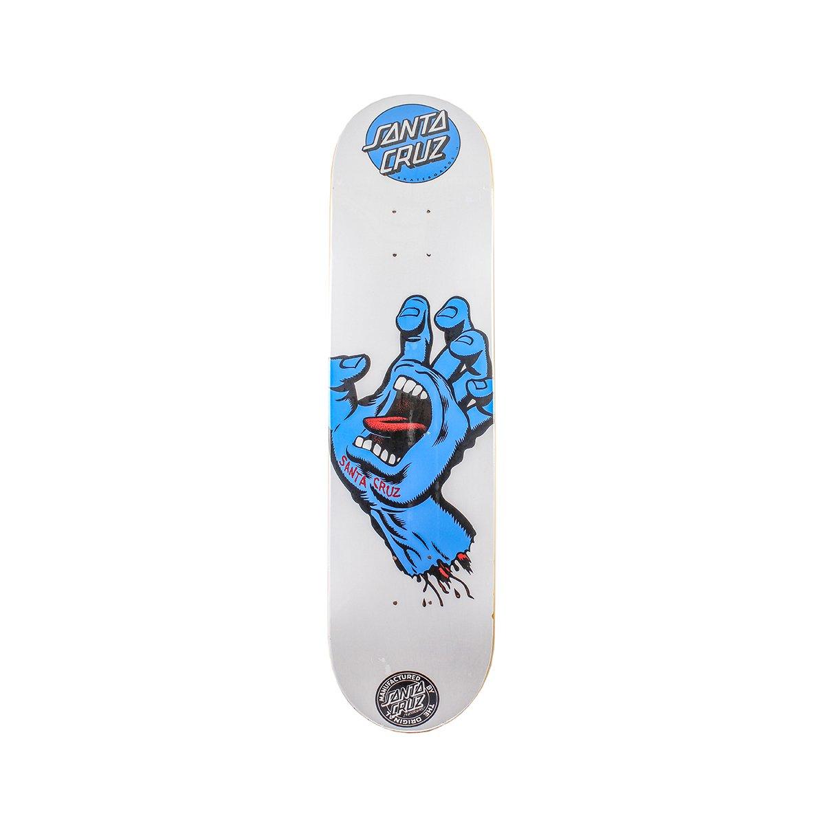Shape Santa Cruz Powerlyte Screaming Hand White 8.25