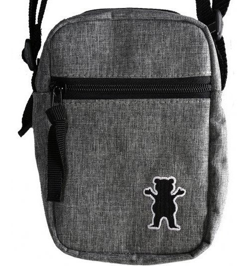 Shoulder Bag Grizzly GG Bear Classic Cinza