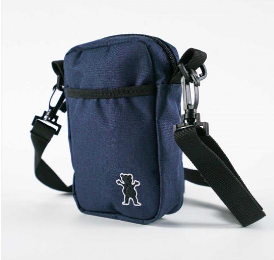Shoulder Bag Grizzly GG Bear Classic Azul